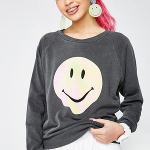 ONLY 1! NWOT Wildfox psychedelic smiley sz MED